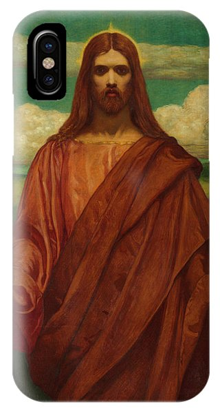 My Son iPhone Case - Christ, 1905 by Kenyon Cox