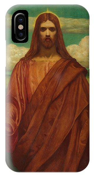 My Son iPhone Case - Christ by Kenyon Cox