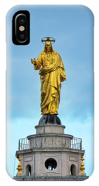IPhone Case featuring the photograph Christ The Redeemer by Fabrizio Troiani