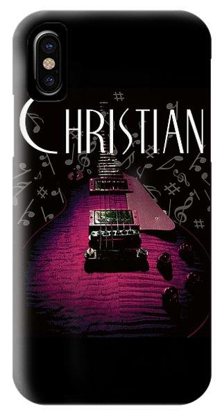Christian Music Guita IPhone Case