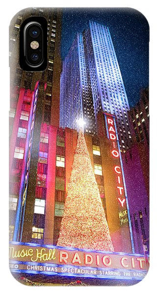 Rockettes iPhone Case - Christmas At Radio City Music Hall by Mark Andrew Thomas