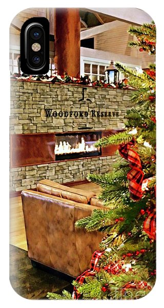 Christmas At Woodford Reserve IPhone Case