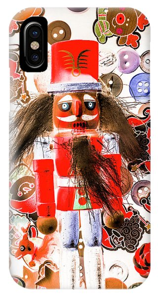 Xmas iPhone Case - Christmas Soldier Spook by Jorgo Photography - Wall Art Gallery
