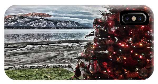 Christmas View IPhone Case