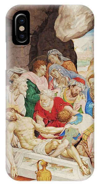 New Testament iPhone Case - Christ's Burial by Luis Lagarto