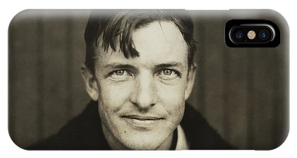 Baseball Hall Of Fame iPhone Case - Christy Mathewson Portrait by War Is Hell Store