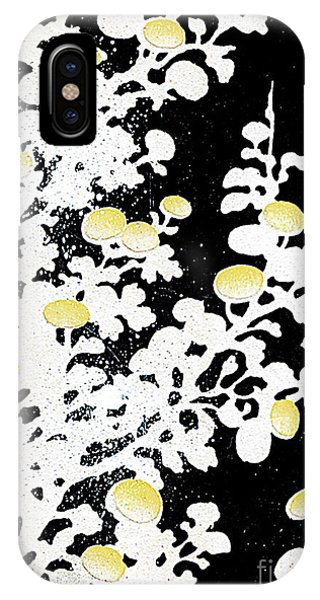 iPhone Case - Chrysanthemum Flowers In White And Yellow by Zal Latzkovich