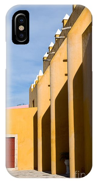 Maya iPhone Case - Church In Mexico by Lebedev