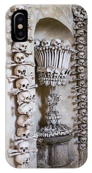 IPhone Case featuring the photograph Church Of Bones by Mark Duehmig