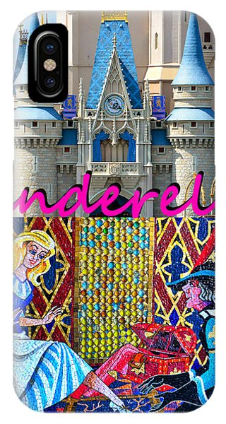 iPhone Case - Cinderella And Castle Poster by David Lee Thompson