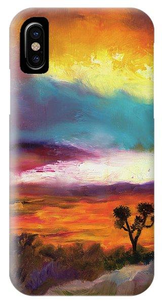 Cindy Beuoy - Arizona Sunset IPhone Case