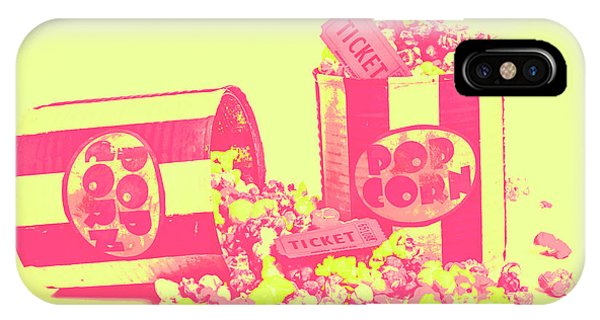 Movie iPhone Case - Cine Design by Jorgo Photography - Wall Art Gallery