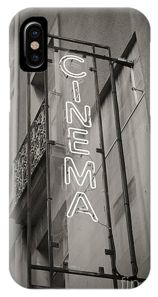 Panel iPhone Case - Cinéma De Quartier by Thomas Pajot