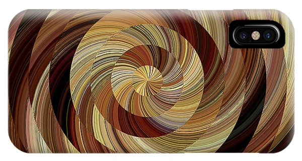 IPhone Case featuring the digital art Cinnamon Roll by David Manlove