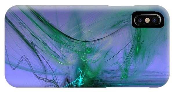 IPhone Case featuring the digital art Circulus by Jeff Iverson