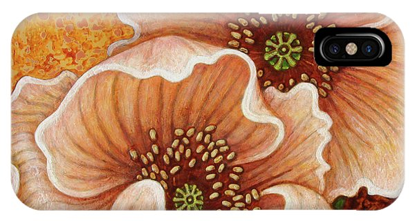 IPhone Case featuring the painting Citrine Glow by Amy E Fraser
