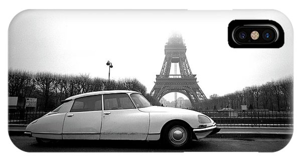 IPhone Case featuring the photograph Citroen by Jim Mathis