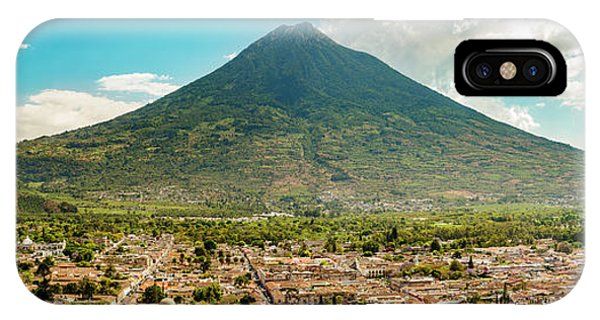 IPhone Case featuring the photograph City Of Antigua Guatemala by Tim Hester