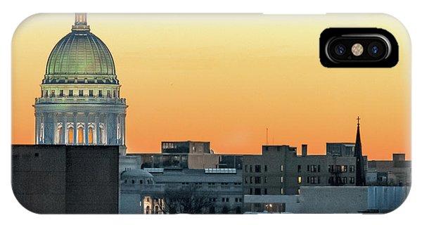 Capitol Building iPhone Case - City Surrounds It by Todd Klassy