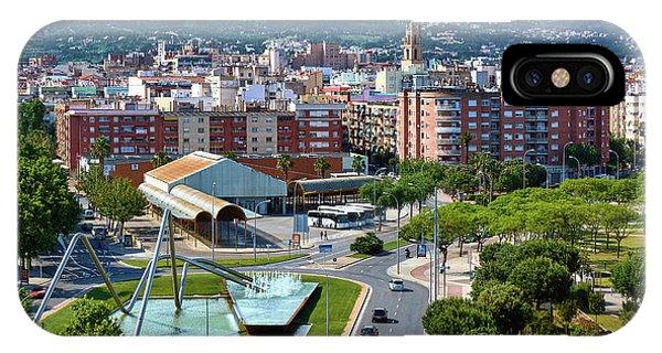 Cityscape In Reus, Spain IPhone Case