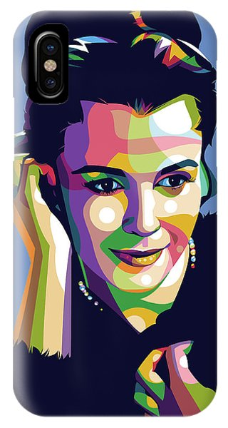 Claire Bloom IPhone Case