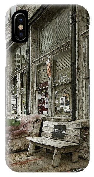 IPhone Case featuring the photograph Clarksdale by Jim Mathis
