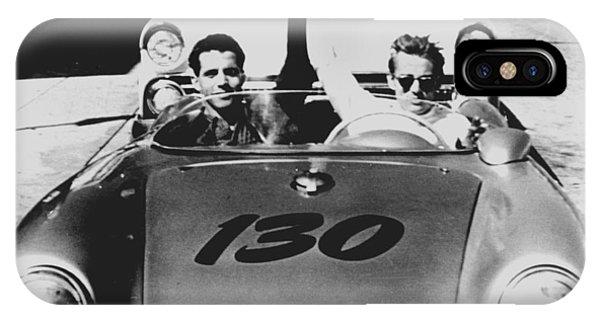 Classic James Dean Porsche Photo IPhone Case