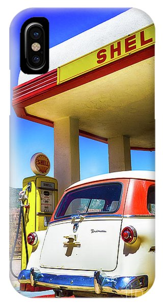 Gas Station iPhone Case - Classical Gas by DiFigiano Photography