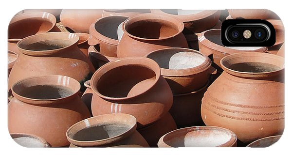 Clay Pots  For Sale In Chatikona  IPhone Case