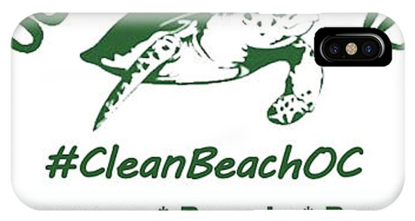 IPhone Case featuring the photograph Cleanbeachoc Poster by Robert Banach