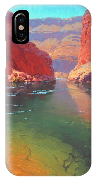 Canyon iPhone Case - Clear Currents by Cody DeLong