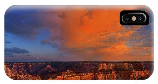 Clearing Storm Cape Royal North Rim Grand Canyon Np Arizona IPhone Case