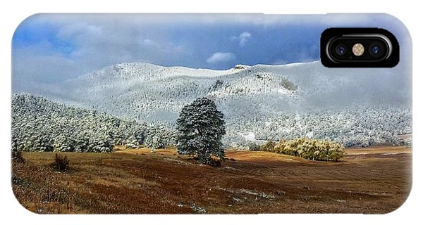 IPhone Case featuring the photograph Clearing Storm by Dan Miller