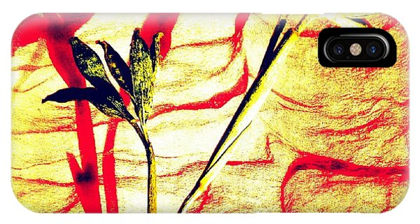 IPhone Case featuring the photograph Clementine Sprig Contemporary by VIVA Anderson
