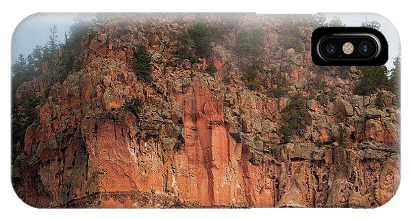 Cliff Face Hz IPhone Case