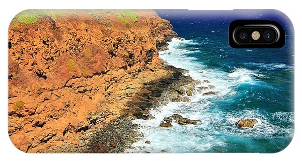 Cliff On Pacific Ocean IPhone Case