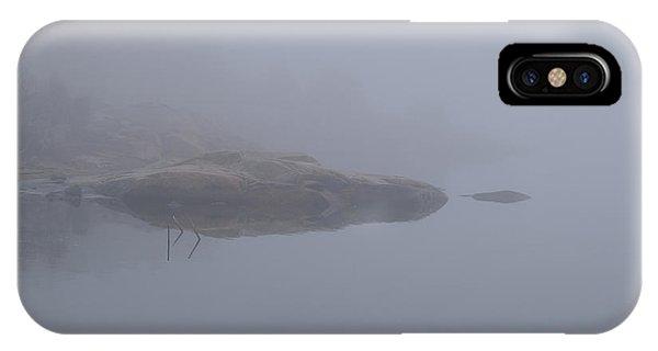 Cliffs In Fog IPhone Case
