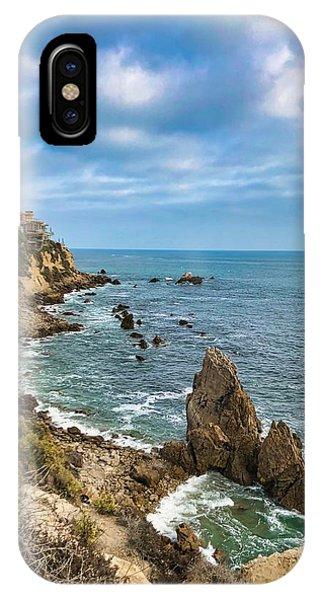Cliffs Of Corona Del  Mar IPhone Case