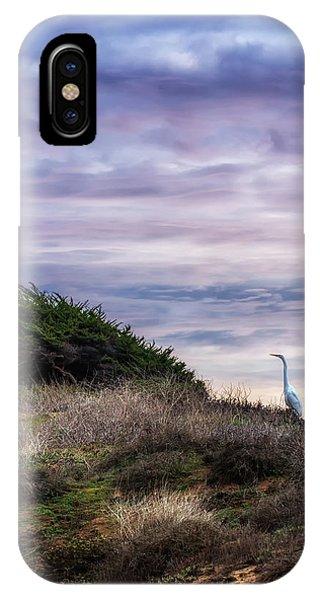 Cliffside Watcher IPhone Case