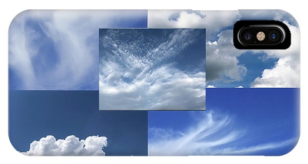 Cloud Collage Two IPhone Case