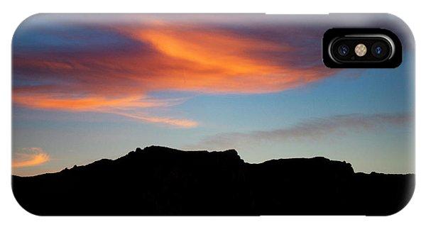 Cloud Over Mt. Boney IPhone Case