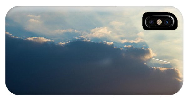 IPhone Case featuring the photograph Cloud-scape 1 by Stewart Marsden