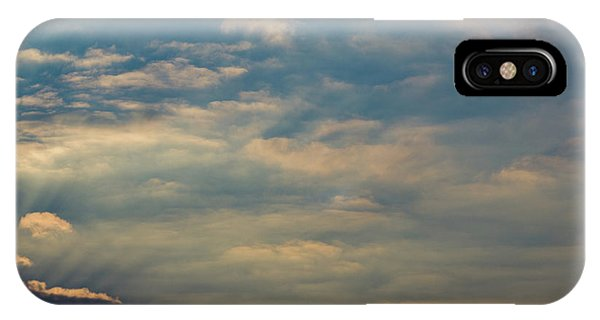 IPhone Case featuring the photograph Cloud-scape 2 by Stewart Marsden