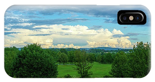 Cloud View Lehigh Valley IPhone Case