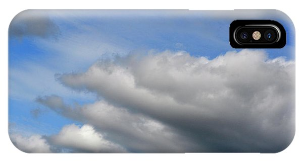 Clouds On The Move IPhone Case