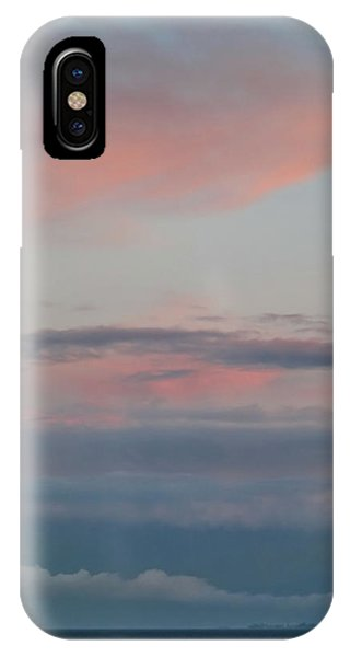Clouds Over The Ocean IPhone Case