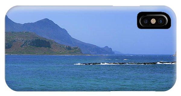 Coast Of Gramvousa IPhone Case