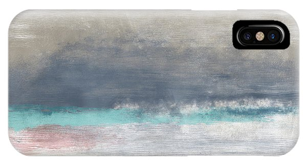 Sky iPhone Case - Coastal Escape Landscape -abstract Art By Linda Woods by Linda Woods