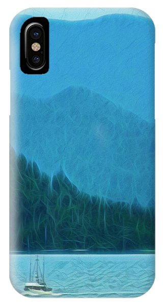 IPhone Case featuring the photograph Coastal Life In Alaska by Mike Braun