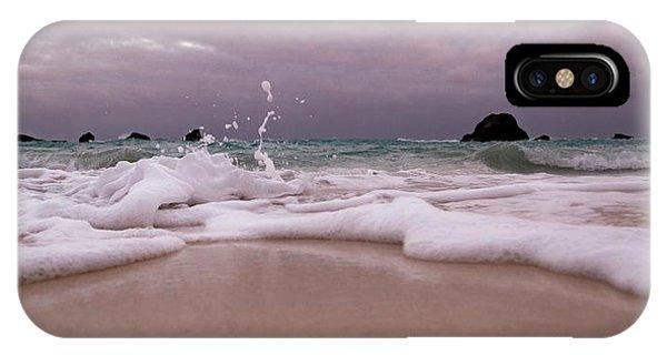 Carribbean iPhone Case - Coastal Splash Intrigue Bermuda  by Betsy Knapp